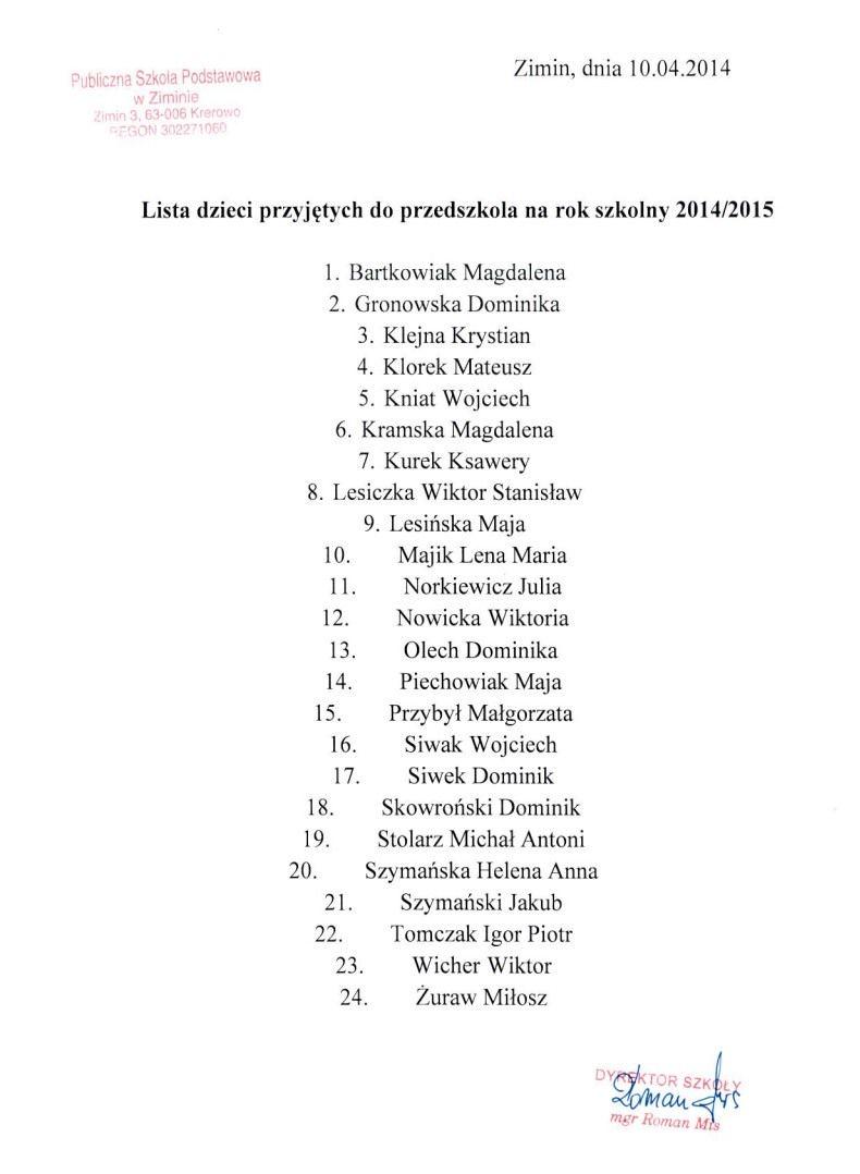 Lista-przedszkole-2014